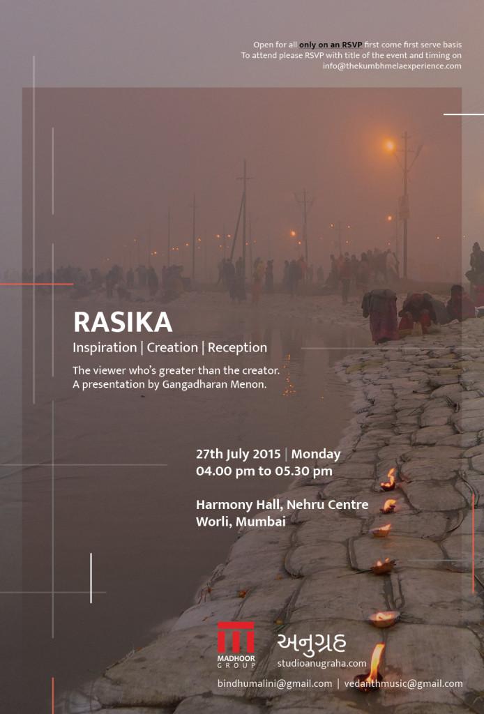 Talk on 27th July- Rasika
